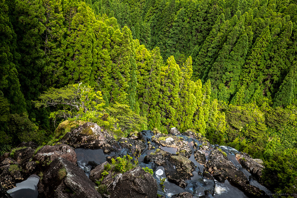 Edge of Ribeira do Além. Flores, Azores, Portugal