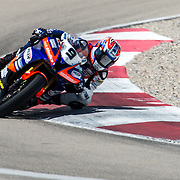 August 3, 2013 - Tooele, UT - Wyatt Farris competes in SuperSport Race 1 at Miller Motorsports Park.