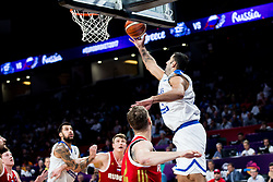 Ioannis Bourousis of Greece during basketball match between National Teams of Greece and Russia at Day 14 in Round of 16 of the FIBA EuroBasket 2017 at Sinan Erdem Dome in Istanbul, Turkey on September 13, 2017. Photo by Vid Ponikvar / Sportida