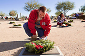 Christmas Wreath Laying In Phoenix