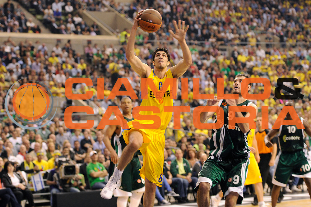 DESCRIZIONE : Barcellona Barcelona Eurolega Eurolegue 2010-11 Final Four Finale Final Maccabi Electra Tel Aviv Panathinaikos<br /> GIOCATORE : Lior Eliyahu<br /> SQUADRA : Maccabi Electra Tel Aviv<br /> EVENTO : Eurolega 2010-2011<br /> GARA : Maccabi Electra Tel Aviv Panathinaikos<br /> DATA : 08/05/2011<br /> CATEGORIA : tiro penetrazione<br /> SPORT : Pallacanestro<br /> AUTORE : Agenzia Ciamillo-Castoria/C.De Massis<br /> Galleria : Eurolega 2010-2011<br /> Fotonotizia : Barcellona Barcelona Eurolega Eurolegue 2010-11 Final Four Finale Final Maccabi Electra Tel Aviv Panathinaikos<br /> Predefinita :