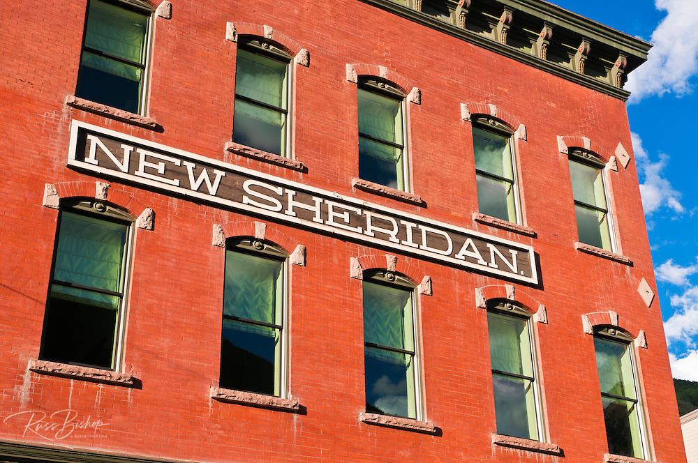 The Sheridan Hotel and historic buildings, Telluride, Colorado
