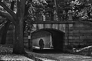 Romance under Dipway Arch near Central Park South