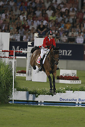 Liebherr Christina (SUI) - LB Robin Hood<br /> Mercedes-Benz Preis part of the Meydan FEI Nations Cup<br /> CHIO Aachen 2009<br /> Photo © Dirk Caremans