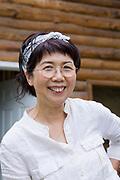 Mayumi Nishimura, makrobiotisk h&auml;lsocoach och kock.<br /> <br /> Fotograf: Christina Sj&ouml;gren<br /> Copyright 2018, All Rights Reserved