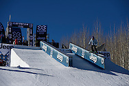 Yuki Tsubota during Women's Ski Slopestyle Practice at the 2013 X Games Aspen at Buttermilk Mountain in Aspen, CO.  Brett Wilhelm/ESPN