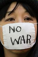 2003 Japan, No War demo's