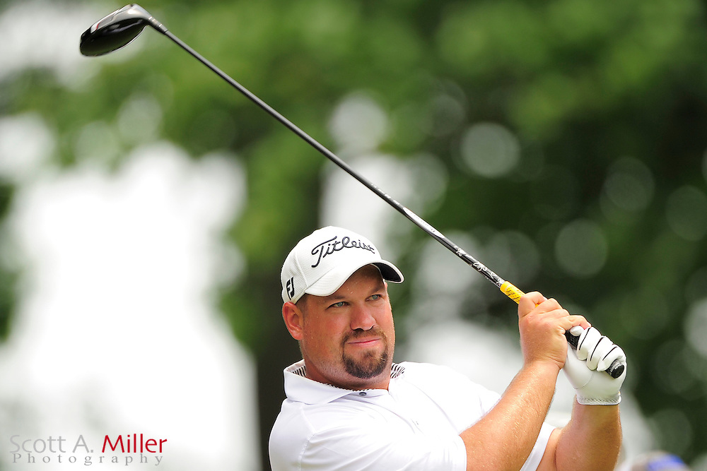 Brendon de Jonge during the final round of the AT&T National at Congressional Country Club on July 1, 2012 in Bethesda, Maryland. ..©2012 Scott A. Miller