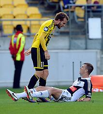 Wellington-Football, A-League, Phoenix v Melbourne Victory, March 31