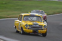 #32 Richard BELCHER Ford Lotus Cortina Mk1  during CSCC Adams & Page Swinging Sixties Series  as part of the CSCC Oulton Park Cheshire Challenge Race Meeting at Oulton Park, Little Budworth, Cheshire, United Kingdom. June 02 2018. World Copyright Peter Taylor/PSP.