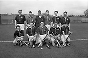 11/04/1964<br /> 04/11/1964<br /> 11 April 1964<br /> Irish Senior Hockey Cup Final, Three Rock Rovers v Church of Ireland (Cork) at Londonbridge Road, Dublin.  The Church of Ireland (Cork) Hockey team that was defeated by Three Rock Rovers.