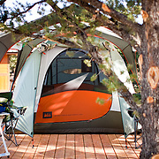 REI Bryce Canyon Signature Camp located just outside Bryce Canyon National Park in Utah. REI's 3-day hiking and camping weekend includes daily guided hikes in Bryce Canyon National Park.