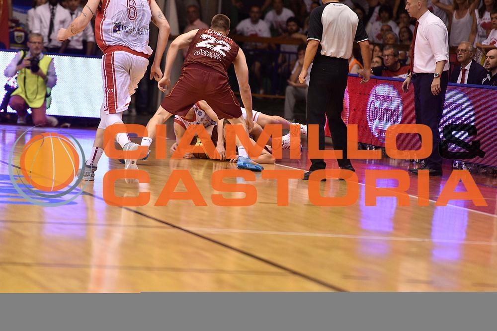 DESCRIZIONE : Reggio Emilia Lega A 2014-15 Semifinale Gara 6 Grissin Bon Reggio Emilia - Umana Venezia <br /> GIOCATORE :  <br /> CATEGORIA : curiosita controcampo <br /> SQUADRA : Grissin Bon Reggio Emilia<br /> EVENTO : Campionato Lega A 2014-2015 <br /> GARA : Semifinale Gara 6 Grissin Bon Reggio Emilia - Umana Venezia<br /> DATA : 09/06/2015<br /> SPORT : Pallacanestro <br /> AUTORE : Agenzia Ciamillo-Castoria/GiulioCiamillo<br /> Galleria : Lega Basket A 2014-2015  <br /> Fotonotizia : Reggio Emilia Lega A 2014-15 Semifinale Gara 6 Grissin Bon Reggio Emilia - Umana Venezia