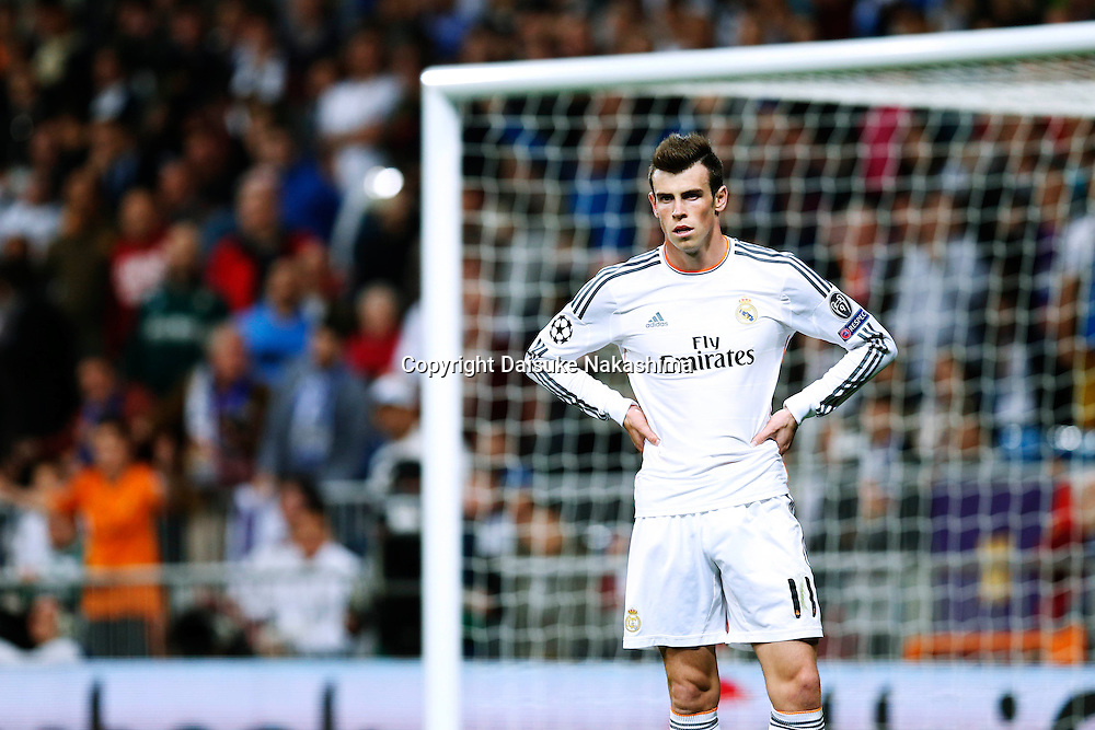 Gareth Bale (Real), MARCH 18, 2014 - Football / Soccer : UEFA Champions League Round of 16, 2nd leg match between Real Madrid 3-1 FC Schalke 04 at Estadio Santiago Bernabeu in Madrid, Spain. (Photo by D.Nakashima/AFLO)