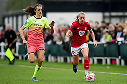 Flo Allen of Bristol City - Mandatory by-line: Ryan Hiscott/JMP - 24/11/2019 - FOOTBALL - Stoke Gifford Stadium - Bristol, England - Bristol City Women v Manchester City Women - Barclays FA Women's Super League