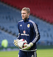 29-03-2016 Scott Bain on Scotland duty