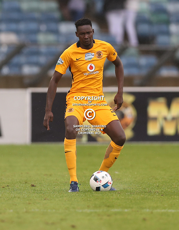 Erick Mathoho of Kaizer Chiefs during the Telkom Knockout quarterfinal  match between Kaizer Chiefs and Free State Stars at the Moses Mabhida Stadium , Durban, South Africa.6 November 2016 - (Photo by Steve Haag Kaizer Chiefs)