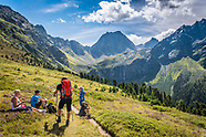 Camping, adventure and mountain traditions in Tiroler Oberland, Austria