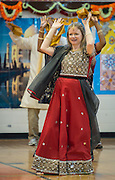 Diwali Festival of Lights celebration at T.H. Rogers, November 1, 2013.