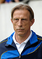 Uefa - World Cup Fifa Russia 2018 Qualifier / <br /> Romania National Team - Preview Set - <br /> Christoph Daum - DT Romania National Team