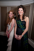 ANTONIA FOYLE; LOUISA COTTRALL, 2009 Royal Caledonian Ball in aid of various Scottish charities , Great Room, Grosvenor House. London. 1 May 2009.