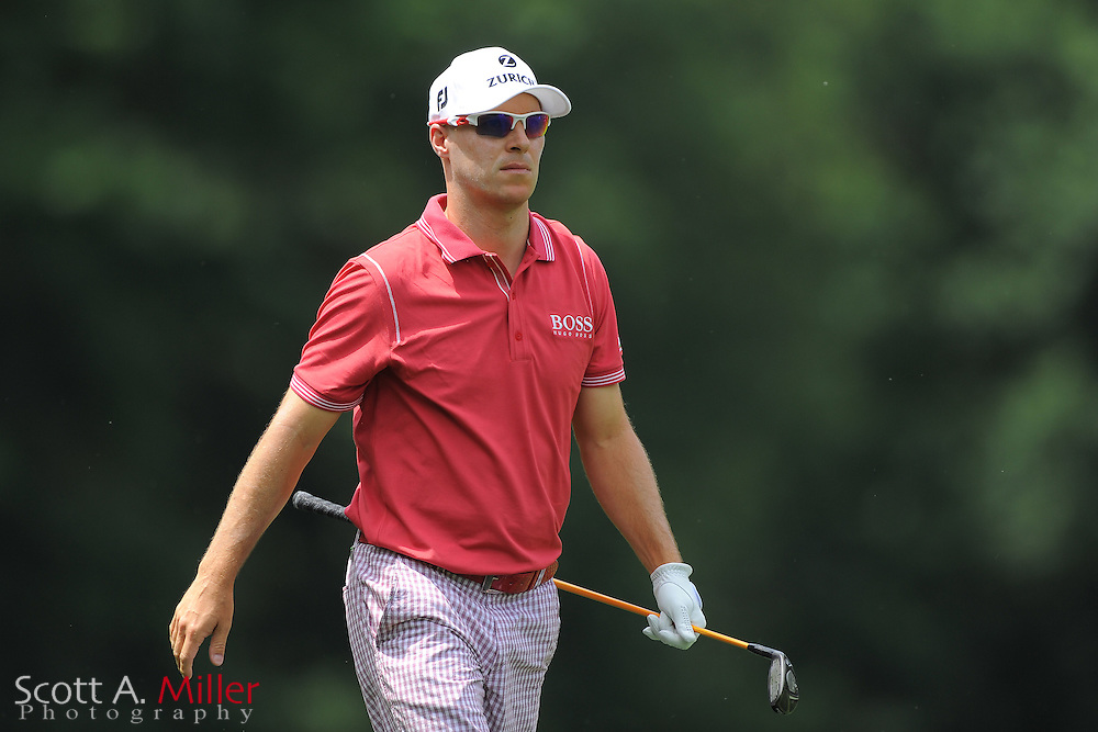 Ben Crane during the third round of the Wells Fargo Championship at the Quail Hollow Club on May 5, 2012 in Charlotte, N.C. ..©2012 Scott A. Miller.