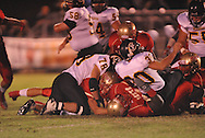 Lafayette High's Colby Terrell (10) recovers a fumble vs. Pontotoc in Oxford, Miss. on Friday, September 23, 2011. Lafayette won 48-7 for the school's 22nd consecutive win.
