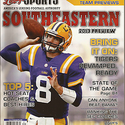 Lindy's Sports College Football -Southeastern 2013 Preview Edition - Zach Mettenberger - LSU