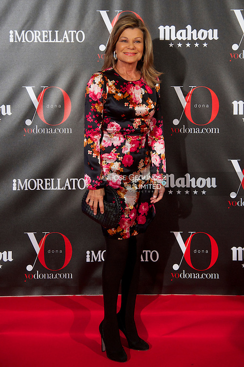 Cari Lapique attends 'Yo Dona' Magazine's Mask Party at Casino on 18 February, 2013 in Madrid