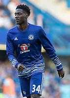 Football - 2016/2017 Premier League - Chelsea V West Ham United. <br /> <br /> Ola Aina of Chelsea ahead of the match at Stamford Bridge.<br /> <br /> COLORSPORT/DANIEL BEARHAM