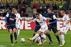 10.12.2011, Rhein Energie Stadion, Koeln, GER, 1.FBL, 1. FC Koeln vs SC Freiburg, im BildLukas Podolski (Koeln #10) schiesst ein zum 4:0 // during the 1.FBL, 1. FC Koeln vs SC Freiburg on 2011/12/10, Rhein-Energie Stadion, Köln, Germany. EXPA Pictures © 2011, PhotoCredit: EXPA/ nph/ Mueller..***** ATTENTION - OUT OF GER, CRO *****
