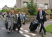 Syrian Refugees arrive on the Scottish Island of Bute shot for the Scottish Daily Mail.