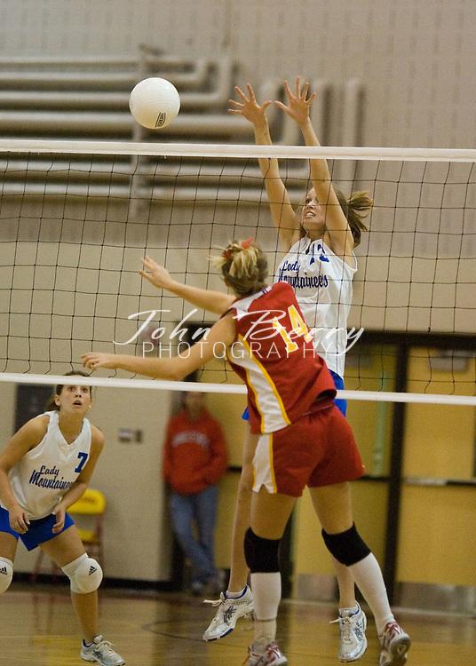 MCHS Varsity Volleyball..Regional Semi Finals..Madison (0) vs Goochland Bulldogs (0)..November 10, 2005