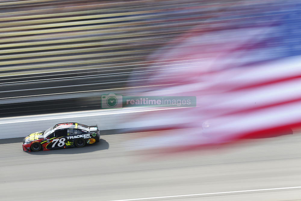 August 12, 2018 - Brooklyn, Michigan, United States of America - Martin Truex, Jr (78) brings his race car down the front stretch during the Consumers Energy 400 at Michigan International Speedway in Brooklyn, Michigan. (Credit Image: © Chris Owens Asp Inc/ASP via ZUMA Wire)