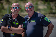 The medical team at the 2018 UCI BMX World Championships in Baku, Azerbaijan.