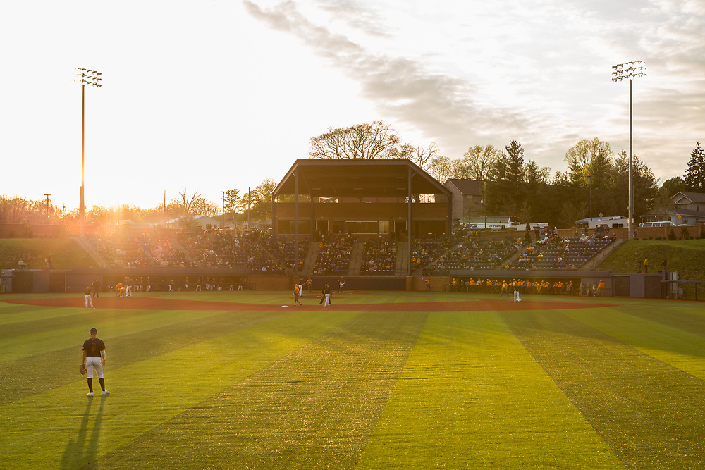 April 17, 2018 - Johnson City, Tennessee - Thomas Stadium<br /> <br /> Image Credit: Dakota Hamilton/ETSU
