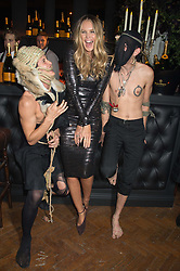 ELLE MACPHERSON at the Veuve Clicquot Widow Series launch party hosted by Nick Knight and Jo Thornton MD Moet Hennessy UK held at The College, Central St.Martins, 12-42 Southampton Row, London on 29th October 2015.
