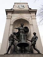 James Gorden Bennett (founder of the New York Herald) memorial on Herald Square in New York City.