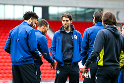 Blackburn Rovers arrive at Doncaster Rovers - Mandatory by-line: Robbie Stephenson/JMP - 24/04/2018 - FOOTBALL - The Keepmoat Stadium - Doncaster, England - Doncaster Rovers v Blackburn Rovers - Sky Bet League One