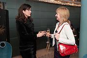 CAROLINE REVMAN-LUSHER; ANNE MCPHERSON, Natwest Everywoman awards reception. The Dorchester Hotel. London. 5 December 2012.