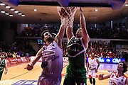 Fesenko Kyrylo<br /> Grissin Bon Reggio Emilia - Sidigas Avellino<br /> Lega Basket Serie A 2017/2018<br /> Reggio Emiali, 20/01/2018<br /> Foto Ciamillo - Castoria