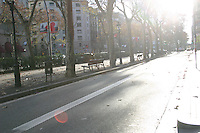 Street scene in Barcelona, Spain<br />
