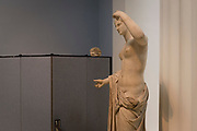 A 1st or 2nd century Roman statue of Venus (discovered by painter and dealer Gavin Hamilton at Ostia in 1775), on 12th June 2018, in London, England.