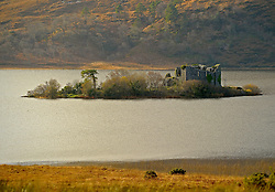 Castle Kirk Island (Hen Island) ... Granuaile's Castle. <br />