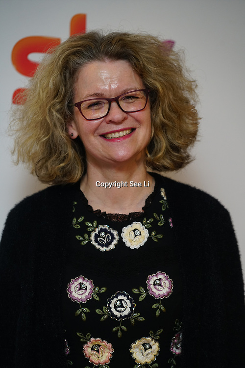 London Hilton, Park lane, England, UK. 1st December 2017. Liz Macintyre attends the Sky Women in Film and TV Awards.
