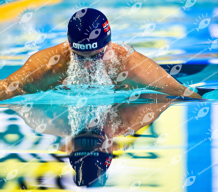 HETLAND Aleksander Rognerud NOR.Men's 50m Breaststroke   semifinal.FINA World Short Course Swimming Championships.Istanbul Turkey 12 - 16 Dec. 2012.Day 04.Photo G.Scala/Deepbluemedia/Inside