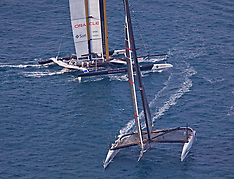 2010 America's Cup Race 2 Aerial Photos