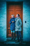 Couples portrait photography showing David and Katie from England, who travelled to Copenhagen for their 10th Wedding Anniversary