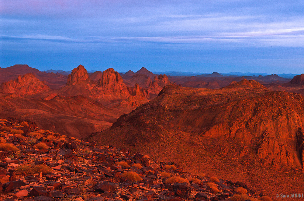 Assekrem mountains, Sahara desert, Algeria, Africa