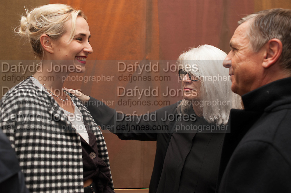 PRINCESS ELISABETH VON THURN UND TAXIS; MONIKA SPRUTH; ANDREAS GURSKY, Opening of Morris Lewis: Cyprien Gaillard. From Wings to Fins, Sprüth Magers London Grafton St. London. Afterwards dinner at Simpson's-in-the-Strand hosted by Monika Spruth and Philomene Magers.